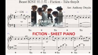 비스트 - Fiction sheet Piano - Tiểu thuyết (Beast B2ST)