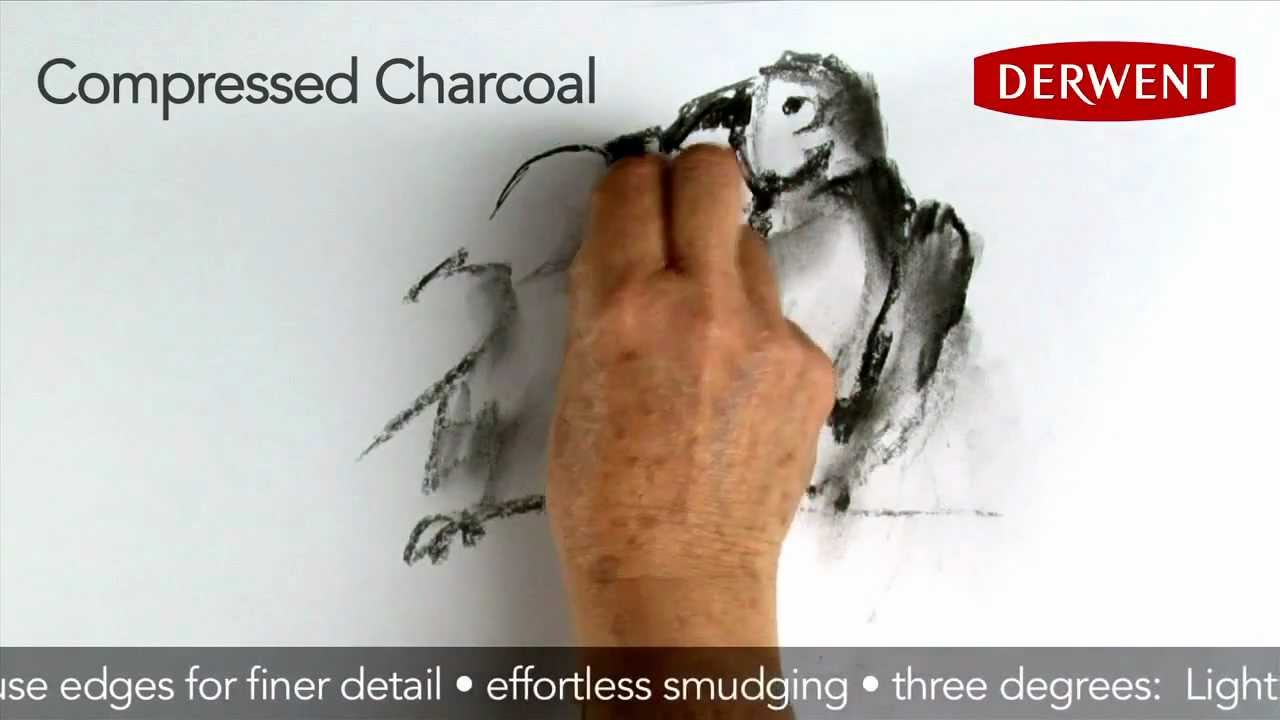 Derwent Compressed Charcoal