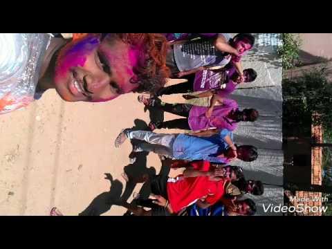 Colour colour kannada song, Holi celebration