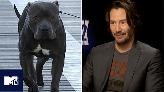 John Wick: Chapter 2| Keanu Reeves Reveals Dog's Name | MTV Movies