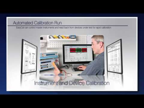 EasyCal Calibration Software | Automate Your Test Instrument Calibration Workflow With EasyCal