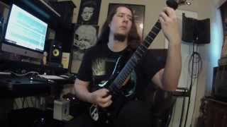 Destroying The Devoid- Chasm Of Existence (Guitar Play-Through)