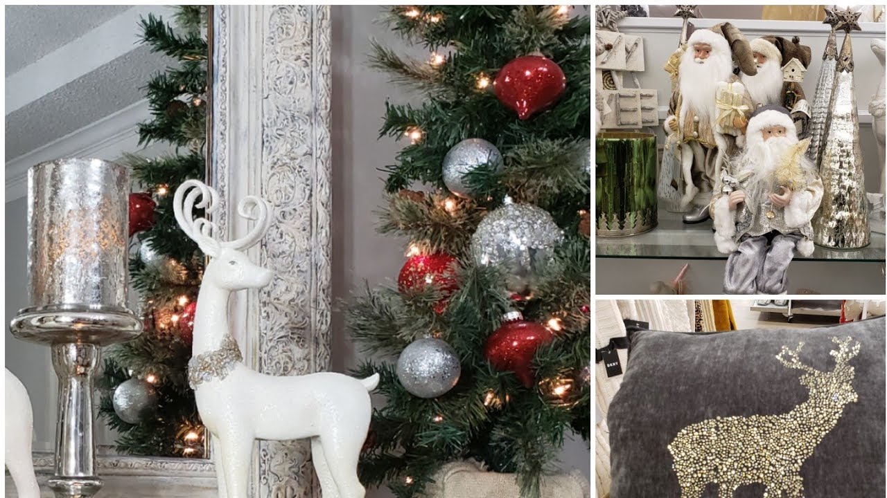 Shop With Me Christmas Decor Trends 2019 Store Tours Bella B Decor Homegoods Goodwill Youtube