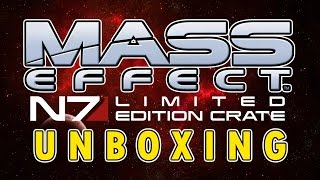 Mass Effect Limited Edition LootCrate Unboxing