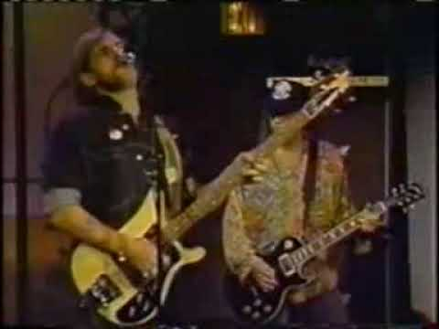 """Motörhead & The Late Show Band - """"Let It Rock"""" - The Late Show With David Letterman - 27/06/1991"""
