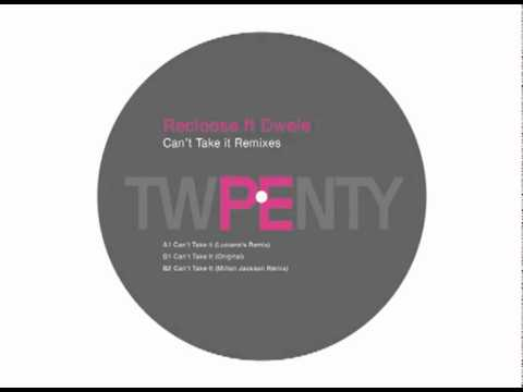 Recloose, Dwele - Can't Take It (Milton Jackson Remix)