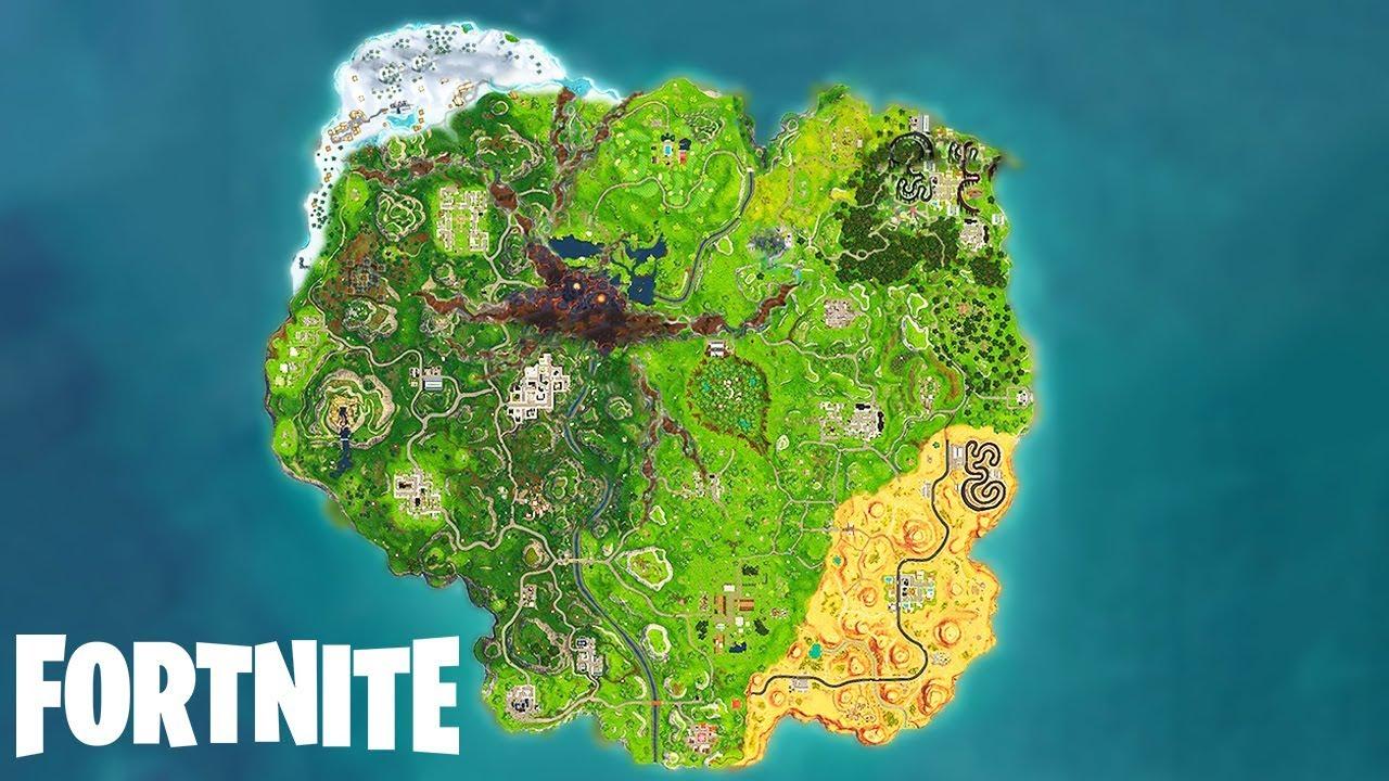 *NEW* Fortnite SEASON 7 MAP LEAKED! (Fortnite Battle ...