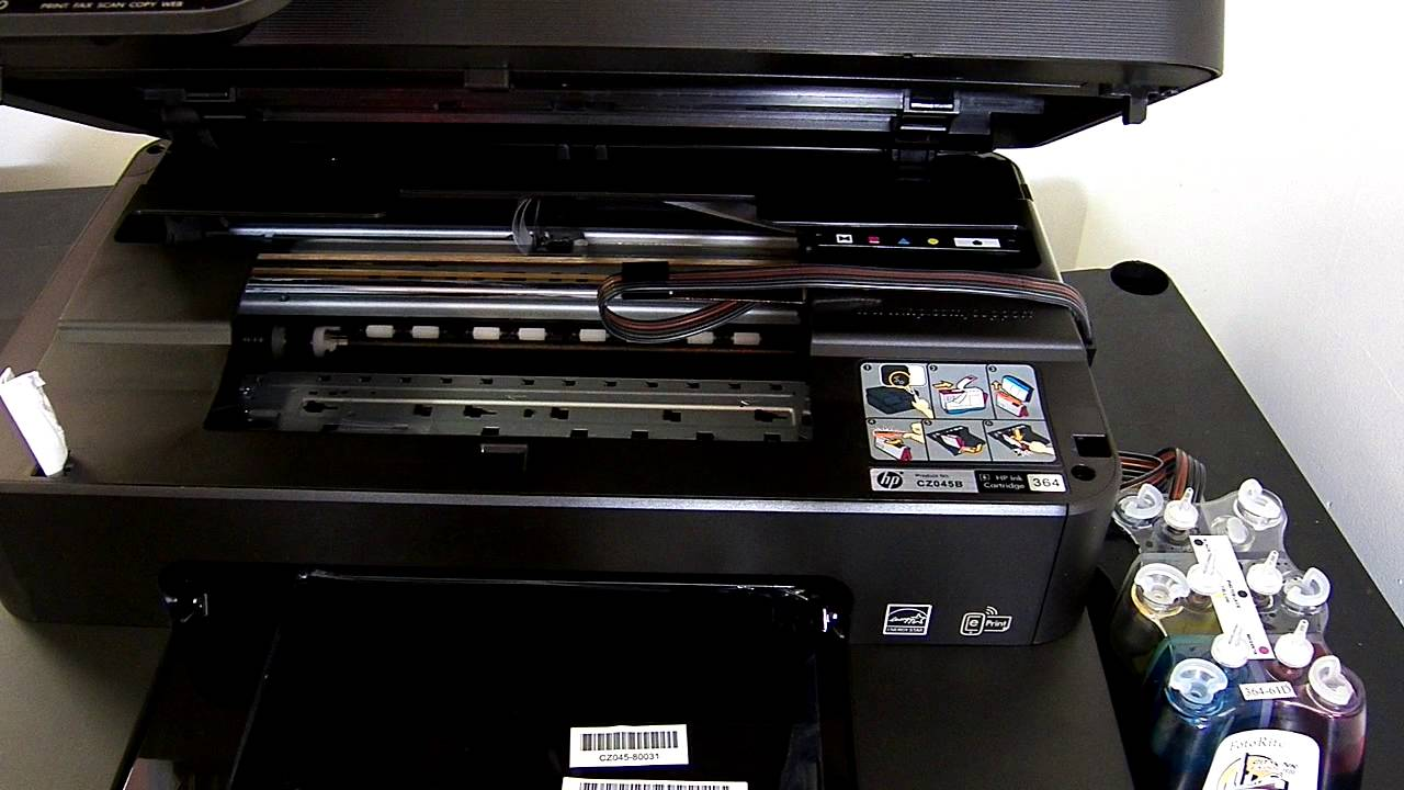 Ciss Continuous Ink System For The Hp Photosmart 7520