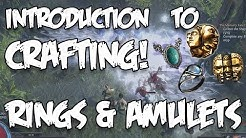 Path of Exile - Crafting 101 - Rings and Amulets! MAKE MORE CURRENCY!