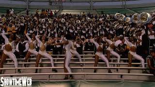 """""""Neck"""" Alabama State Marching Band and Stingettes - 2019 ASU at UAB"""