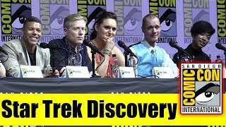 STAR TREK: DISCOVERY | Comic Con 2018 Full Panel (Sonequa Martin-Green, Doug Jones)