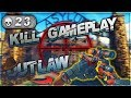 23 Kill Solos Outlaw Sniper Gameplay - CoD Blackout