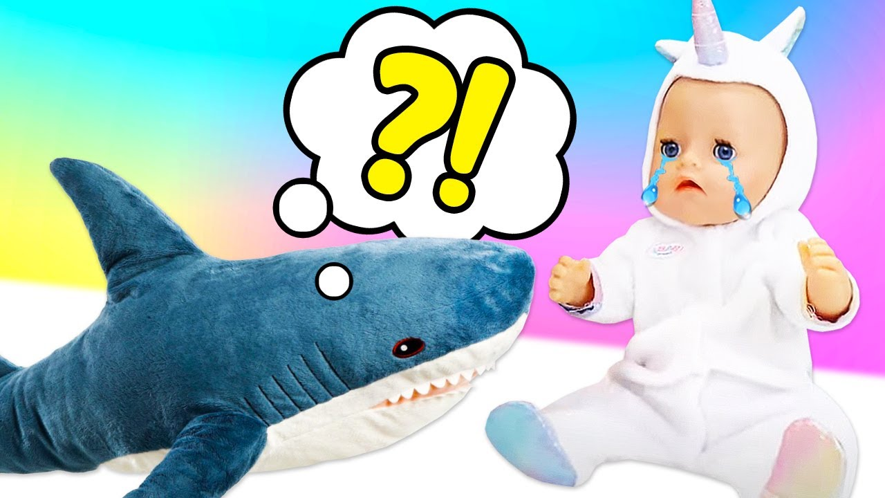 Baby doll & Baby shark! Kids play baby dolls & fun videos for kids