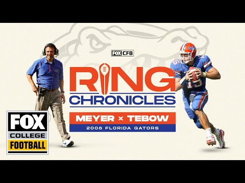 Urban Meyer And Tim Tebow Relive Florida's 2008 BCS Championship   Ring Chronicles   CFB ON FOX