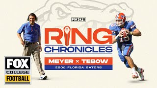 Urban Meyer and Tim Tebow relive Florida's 2008 BCS Championship | Ring Chronicles | CFB ON FOX