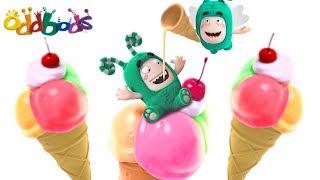 LOVE FOR ICE CREAM   Oddbods Show Full Episodes   Funny Cartoons