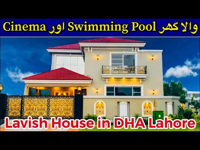1 KANAL BEAUTIFUL CORNER HOUSE IN DHA PHASE 6 LAHORE - Luxury Homes #HomeInteriors