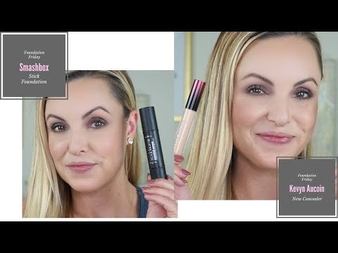 Review NEW Smashbox Foundation  & Kevyn Aucoin Concealer || Foundation over 30 - Elle Leary Artistry