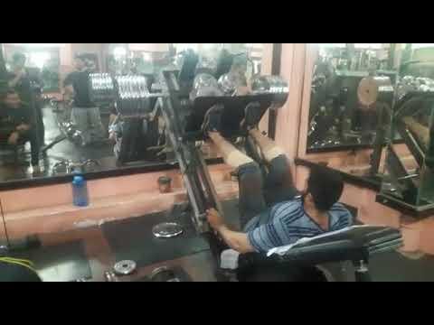Leg press workout @ BBC gym malakpet(5)