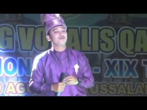 LASQI - JUARA 1 DEWASA PUTRA FESTIVAL BINTANG VOKALIS QASIDAH GAMBUS NASIONAL XIX 2014 PALU SULTENG
