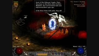 Diablo 2 LoD Necromancer The Seven Tombs Quest on Hell 4/4