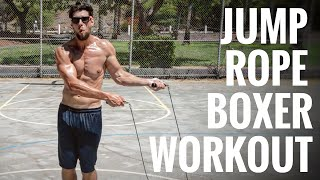 Jump Rope Boxing Workout