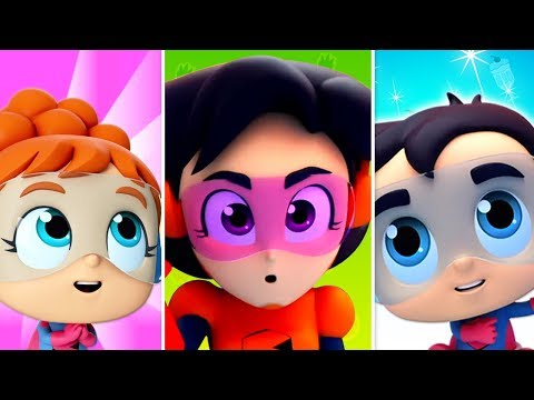 No No Song | The Supremes Cartoons | Videos & Song For Babies  - Super Kids Network