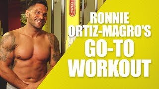Ronnie Magro (Jersey Shore) Do Anywhere Workout