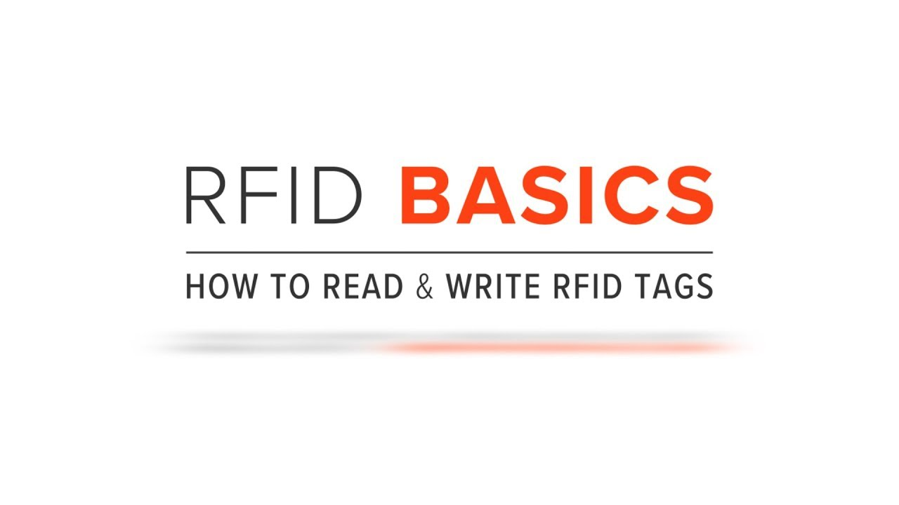 RFID Basics | How to Read & Write RFID Tags