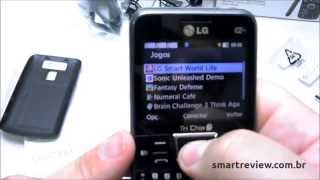 Unboxing feature phone LG Tri Chip C333 em português do Brasil