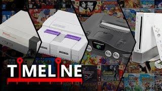 TIMELINE: Consolas de Nintendo