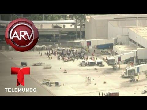 El sospechoso de tiroteo en Fort Lauderdale Esteban Santiago | Al Rojo Vivo | Telemundo