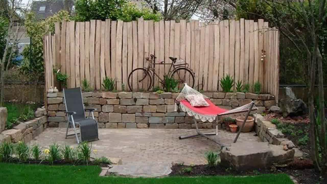 Origineller Sichtschutz Garten Sichtschutz Garten Modern Stein