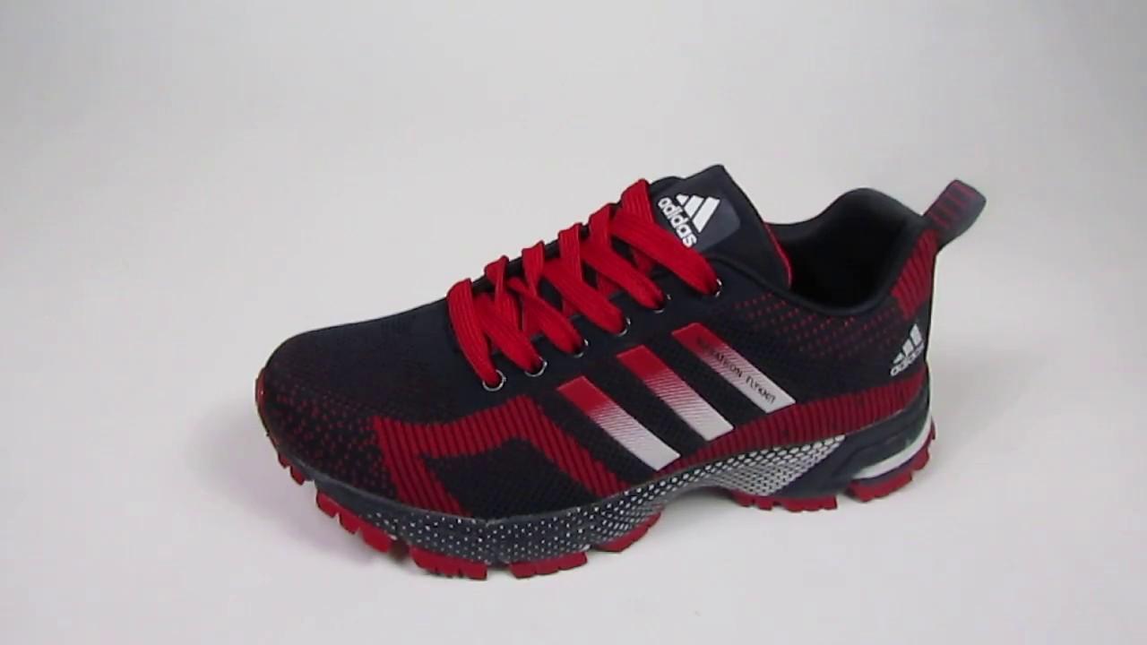 98e3f1874844 Кроссовки женские Adidas Marathon Flyknit - YouTube