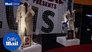 Biggest display of Elvis memorabilia comes to Europe - Daily Mail