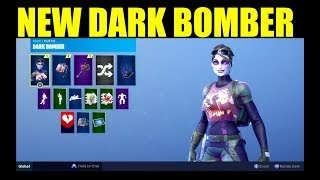 THE FORTNITE DARK BOMBER SKIN IS HERE!! (Dark Bag & Thunder Crash Showcase)