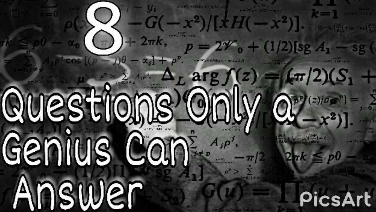 7 questions only a genius can answer! - Genius IQ Test ...