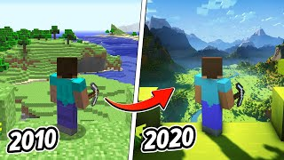 I Recreated The First Minecraft Trailer 10 Years Later