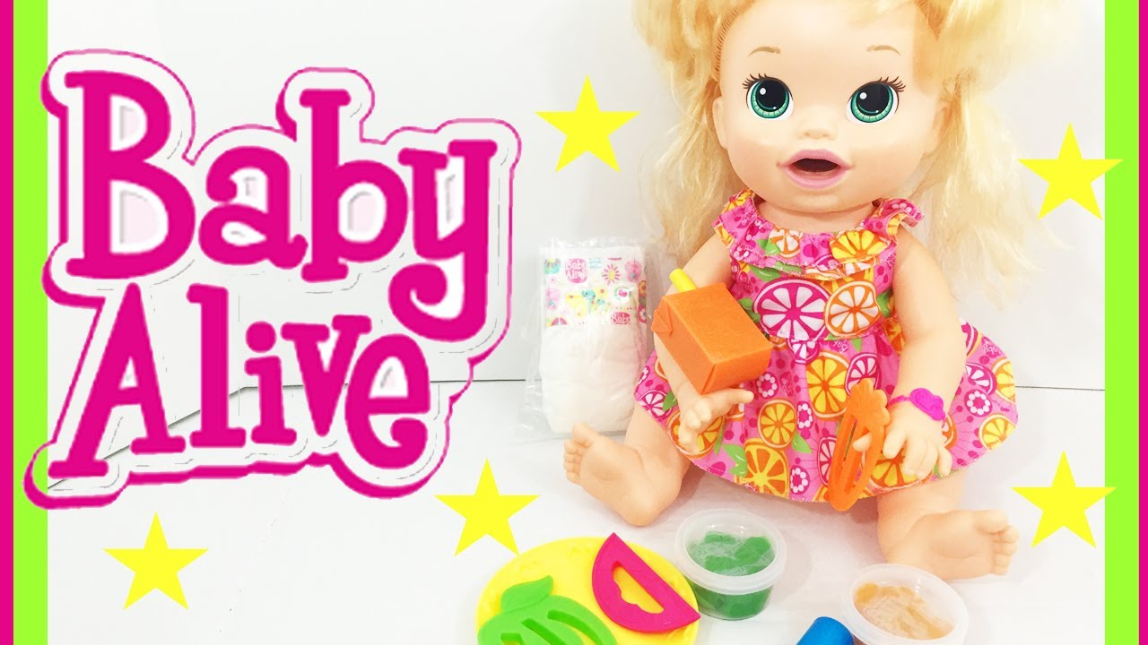 Baby Alive Pretty In Pigtails Gets A Boo Boo Doll
