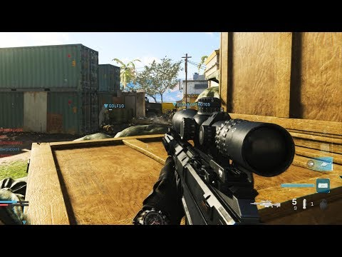 20 vs 20 BIG TEAM BATTLE Sniping Gameplay in Modern Warfare