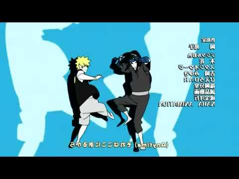 Naruto Shippuden Ending 15 U can do it!