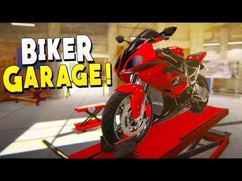 Repairing Dumped Motorcycles For Profit - Biker Garage Mechanic Simulator