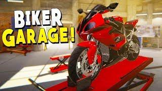 Repairing Dumped Motorcycles For Profit - Biker Garage Mechanic Simulator screenshot 5