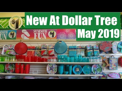 NEW AT DOLLAR TREE: MAY 2019