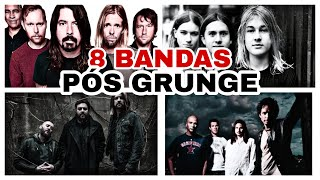 8 BANDAS que CRESCERAM com o FIM do MOVIMENTO GRUNGE
