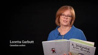 Loretta Garbutt reads from her book:A Stopwatch from Grampa