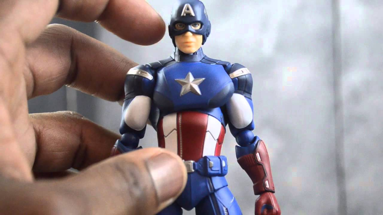 max factory figma 226: avengers captain america review - youtube