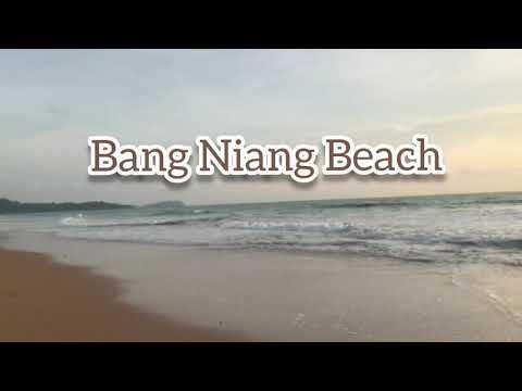 Bang Niang Beach in Khao Lak, Phang Nga, Thailand หาดบางเนียง เขาหลัก ต.คึกคัก อ.ตะกั่วป่า จ.พังงา