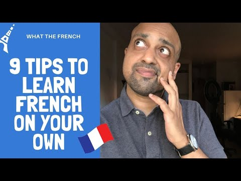 9 Ways To Learn French From Home On Your Own