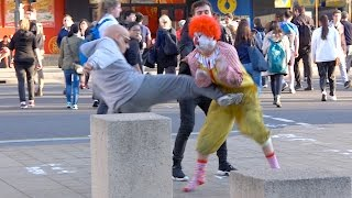 One of TheRoyalStampede's most viewed videos: Ronald McDonald Fights Grandpa!